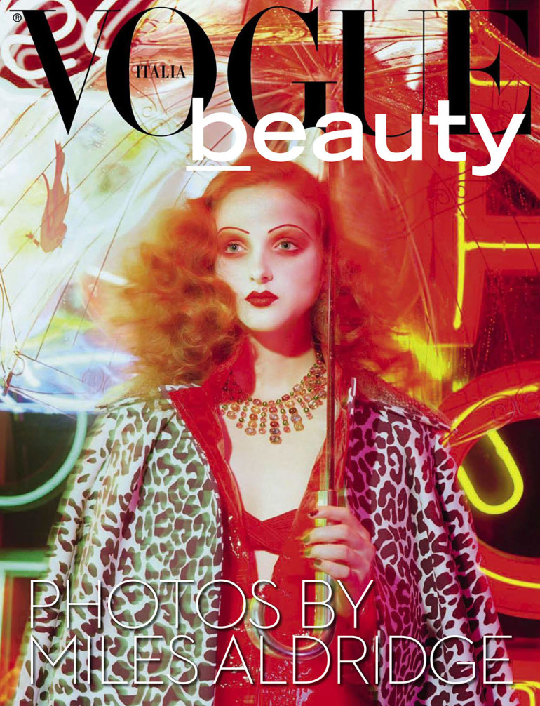 Madison Stubbington by Miles Aldridge for Vogue Italia September 2015 Cover