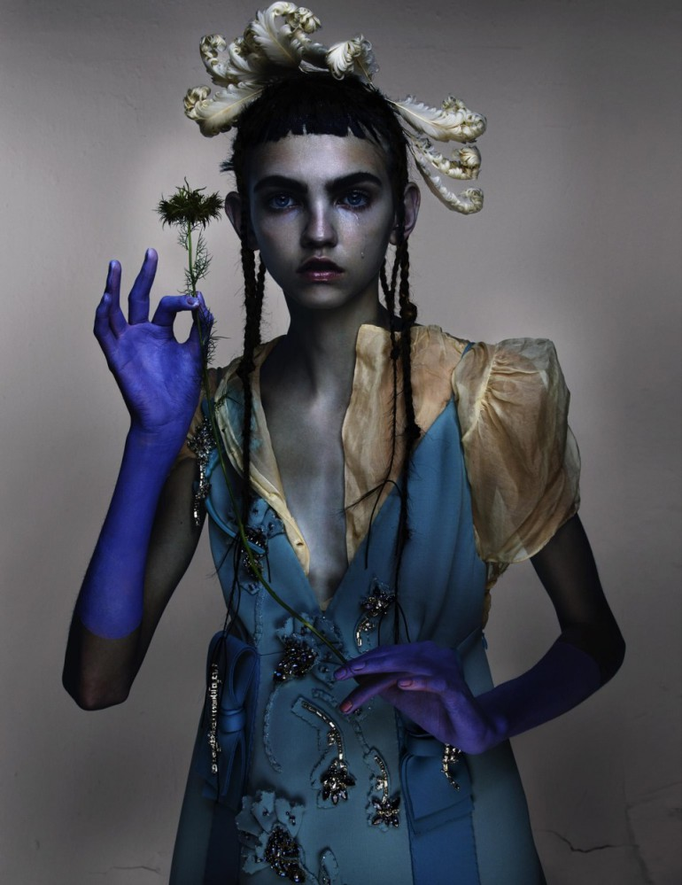 Molly Bair 'Best New Romantics' by Nick Knight for V Magazine 20