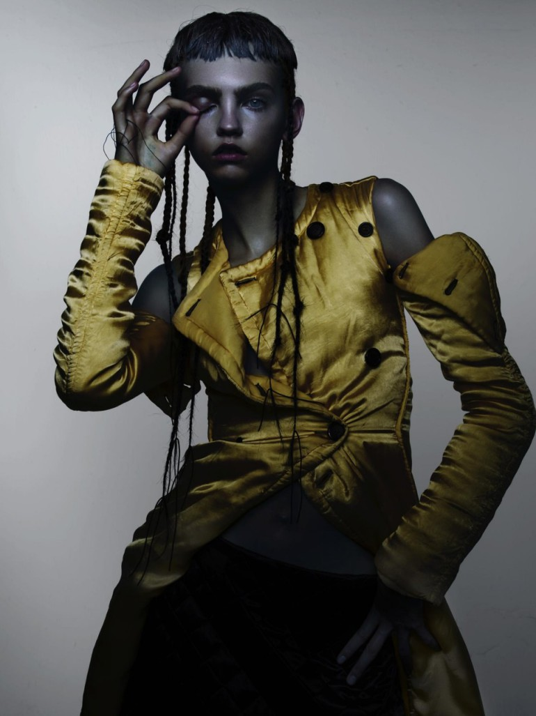Molly Bair 'Best New Romantics' by Nick Knight for V Magazine 8