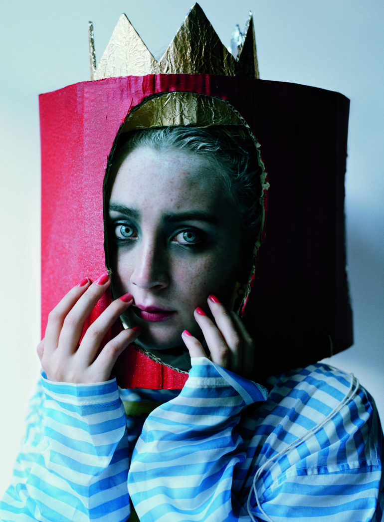 Saoirse Ronan 'Queen of Hearts' Tim Walker for W Magazine 3
