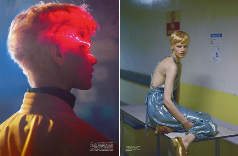 Saskia de Brauw by Mert & Marcus for Self Service FW 2015 11