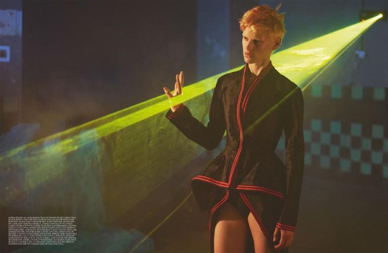 Saskia de Brauw by Mert & Marcus for Self Service FW 201522