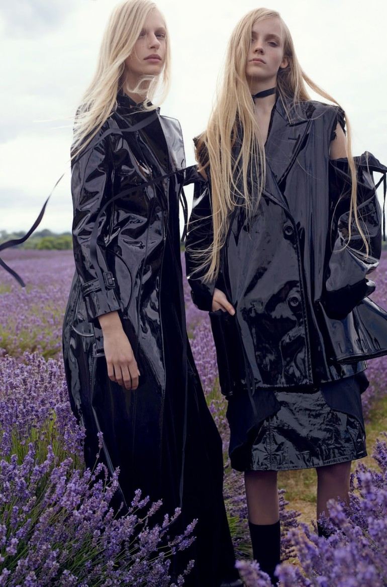 frederikke sofie & lucan gillespie by sean & seng for dazed FW 2015 15