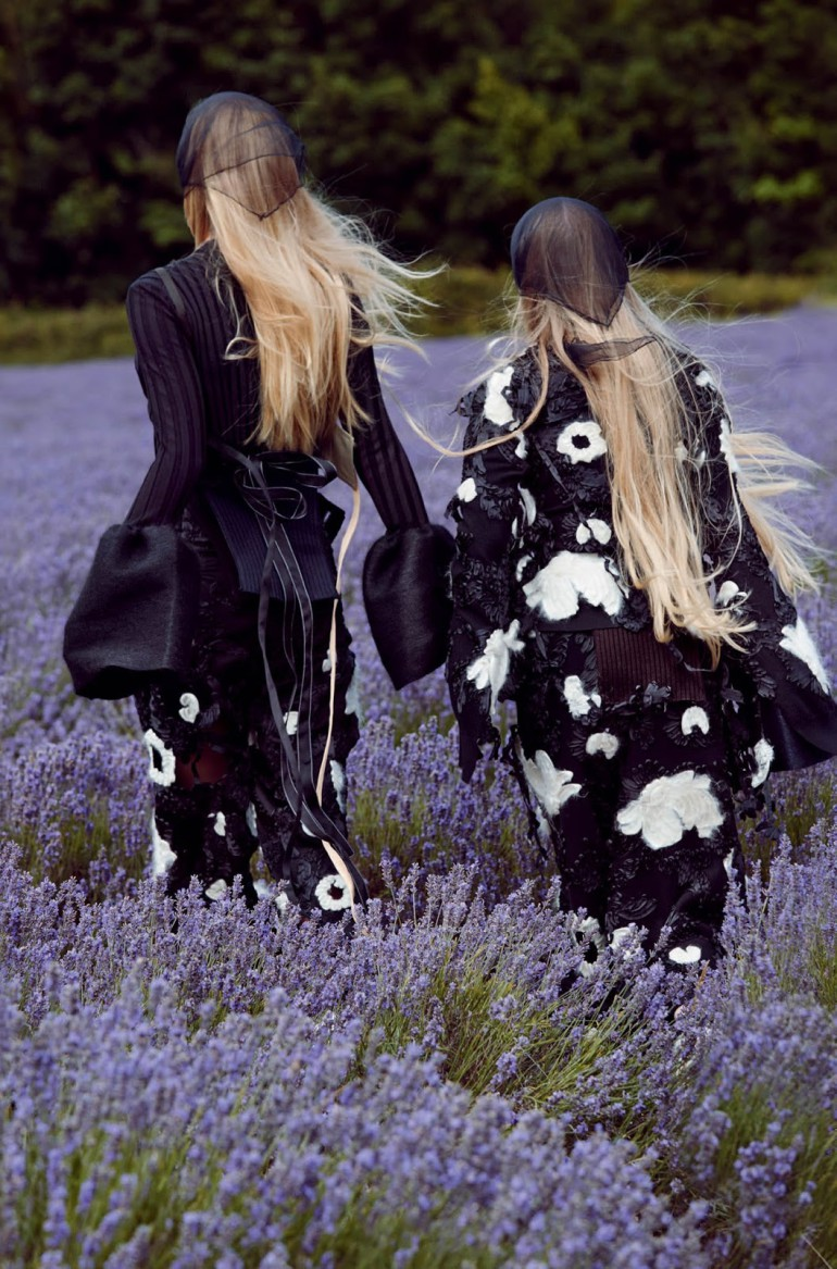 frederikke sofie & lucan gillespie by sean & seng for dazed FW 2015 5