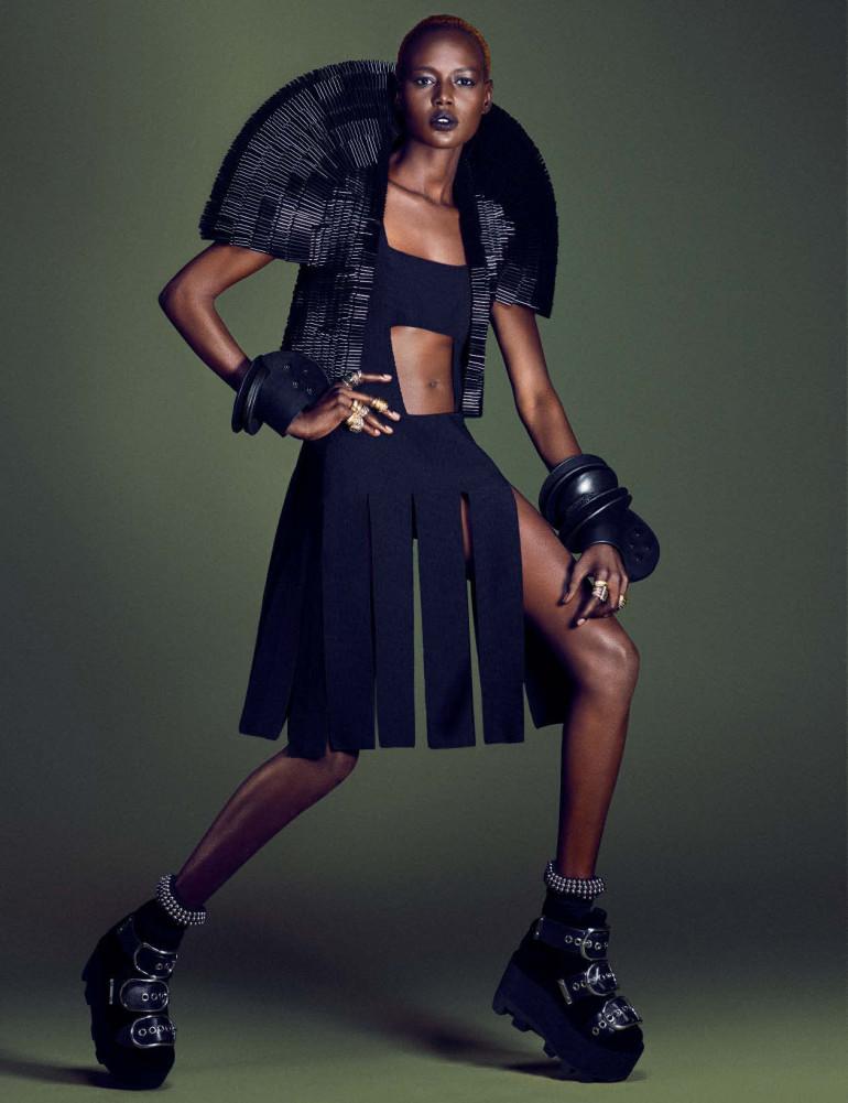 Afrik Art Vogue Germany December 2015 16