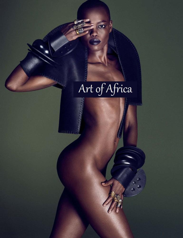 Afrik Art Vogue Germany December 2015 2