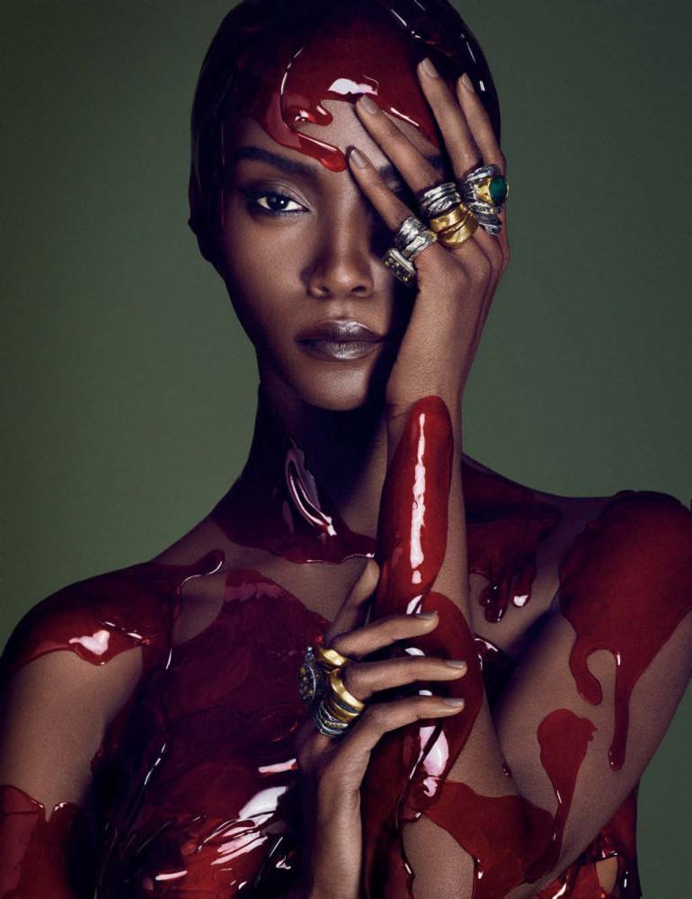 Afrik Art Vogue Germany December 2015 28