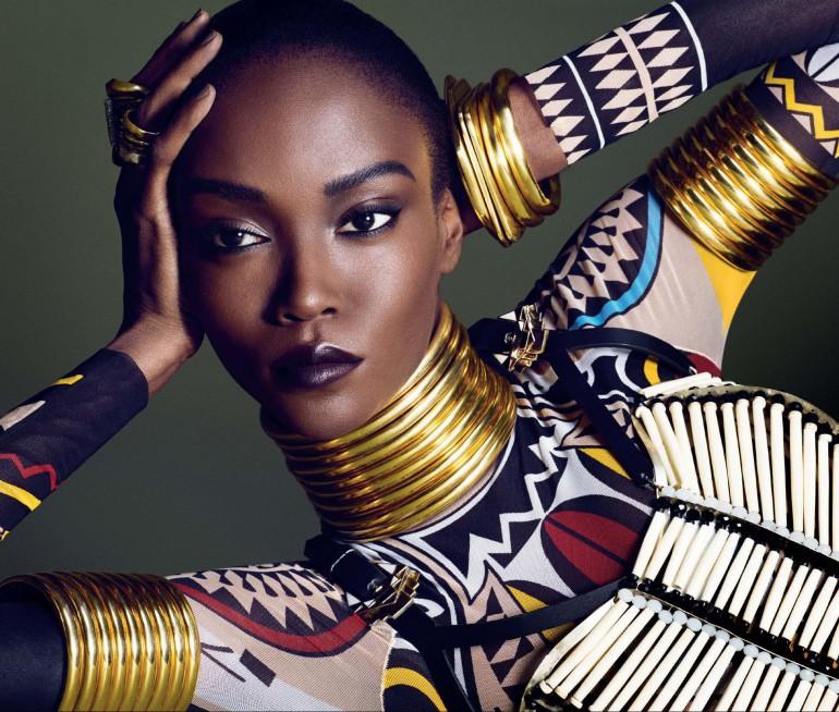 Afrik Art Vogue Germany December 2015