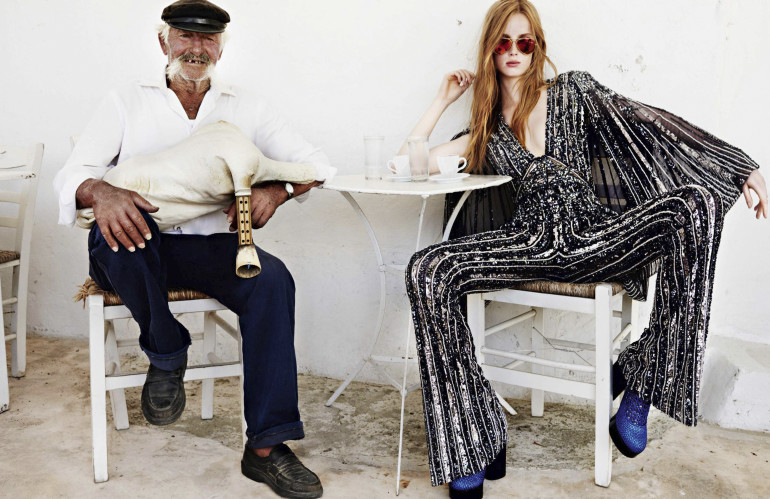 Mario Testino 'Mykonos' for Vogue Paris 25
