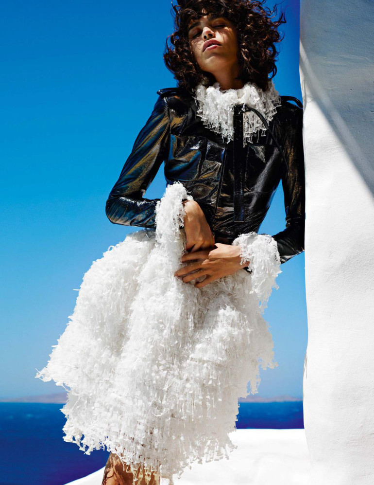 Mario Testino 'Mykonos' for Vogue Paris 30