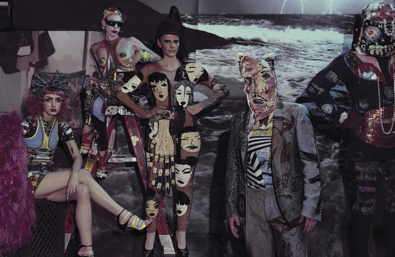 Vogue Italia, Steven Klein 01-16