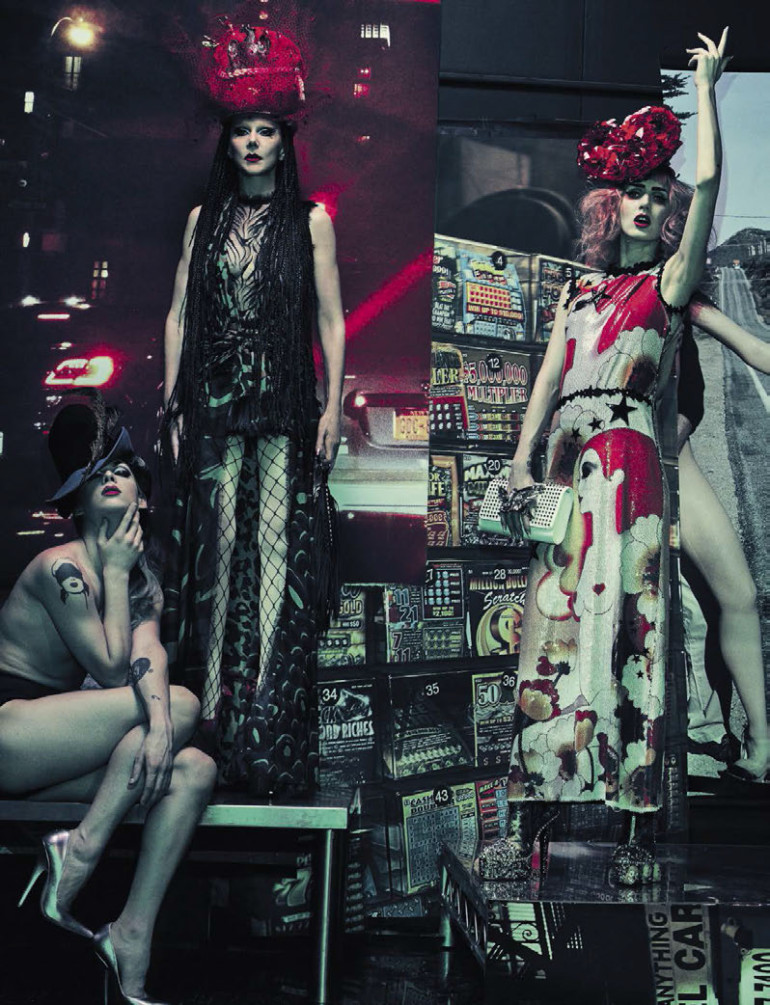 Vogue Italia, Steven Klein 01-16 8