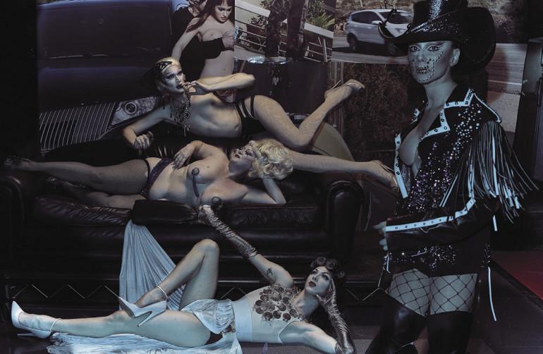 Vogue Italia, Steven Klein 01-16 9