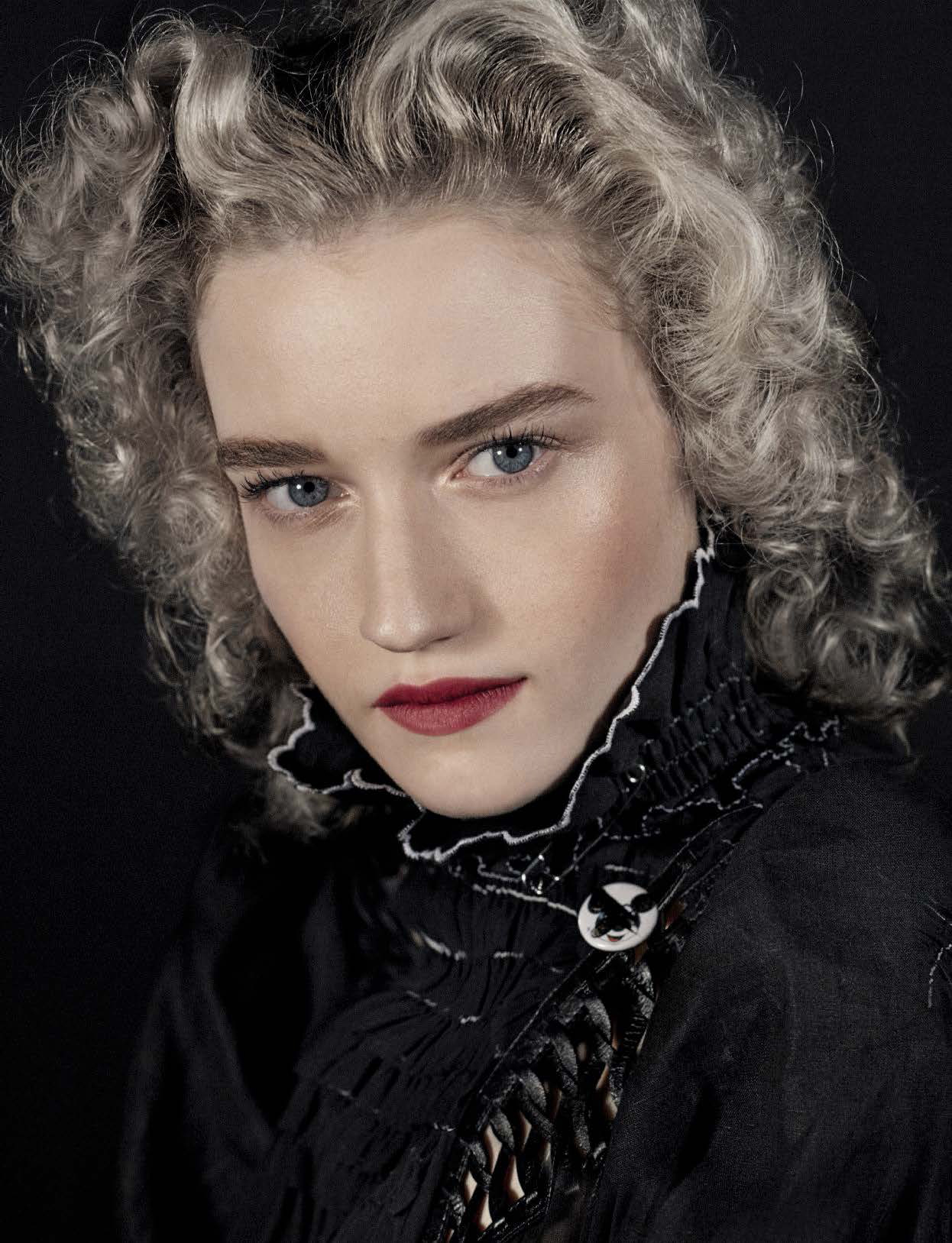 "Julia Garner See Through 13 Photos: Julia Garner Covers In ""Girls & Boys"" By Steven Meisel For"