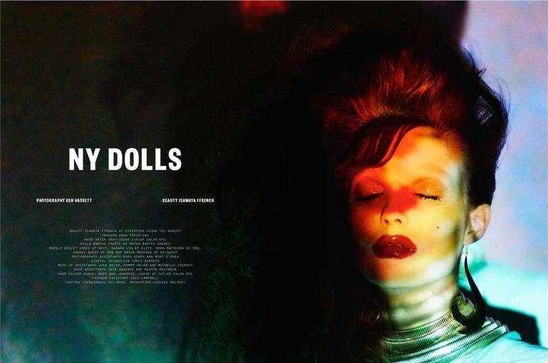 Ben Hassett 'NY Dolls' Beauty Papers 2
