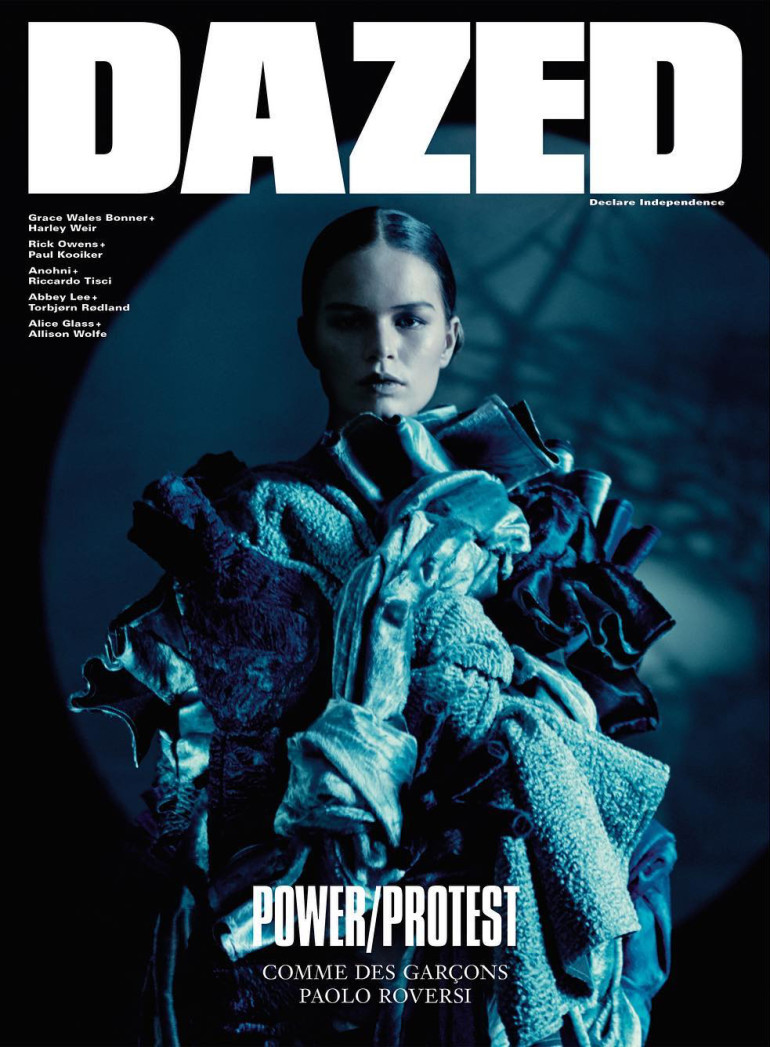anna ewers dazed cover ss 16