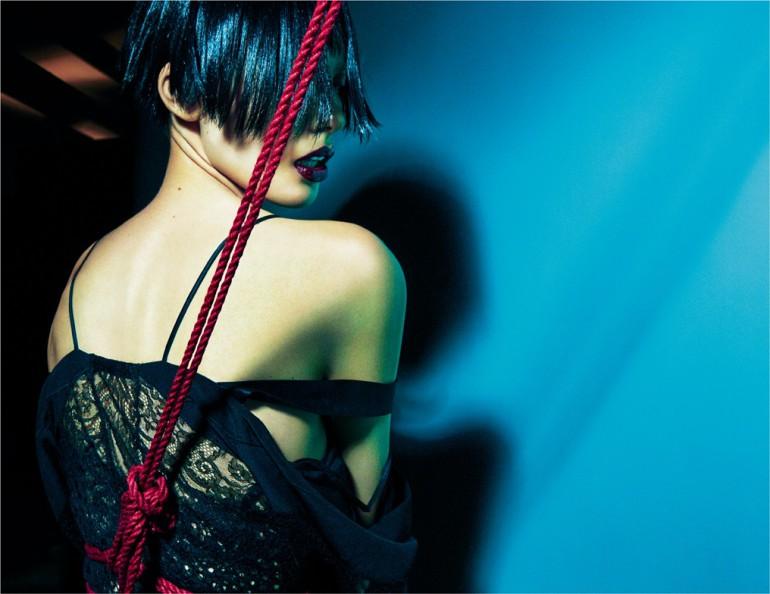 """""""Attache-moi"""" by Greg Kadel for Numero 8"""