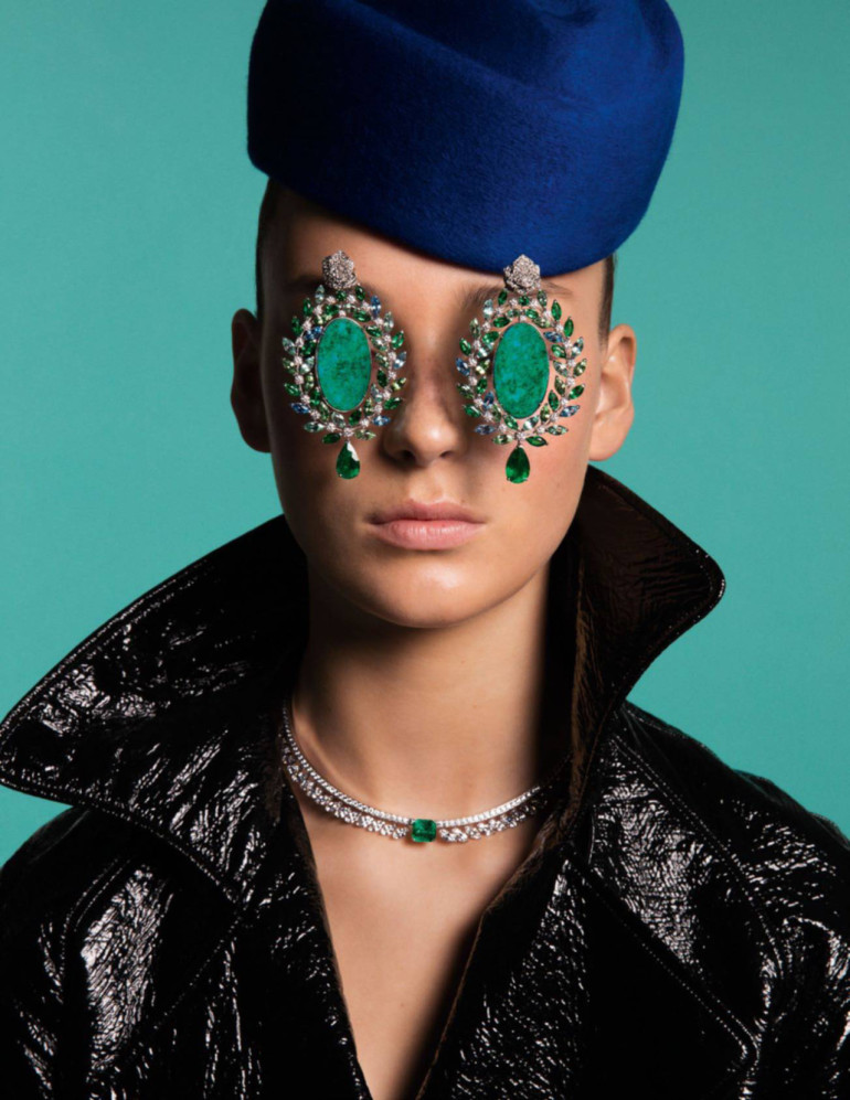 Julia Bergshoeff – Inez & Vinoodh – Vogue Paris 8