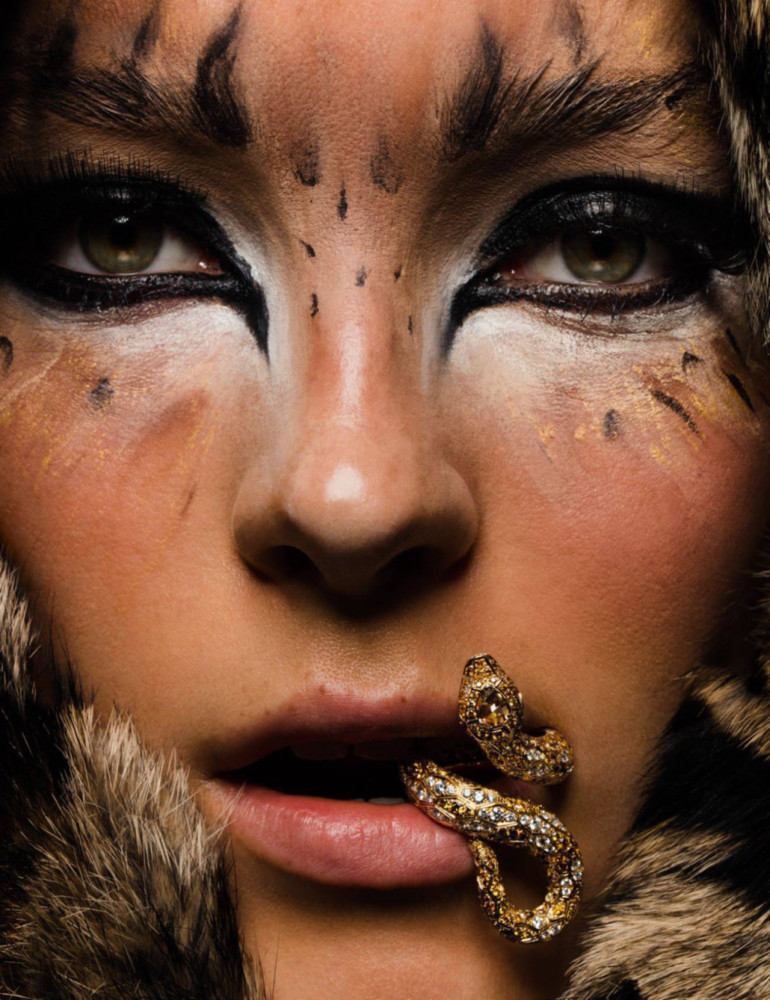 Julia Bergshoeff – Inez & Vinoodh – Vogue Paris 9