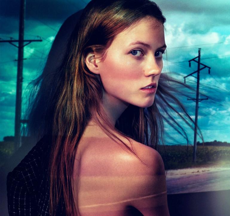 Julia Wachtel by Victor Demarchelier for Numero 13