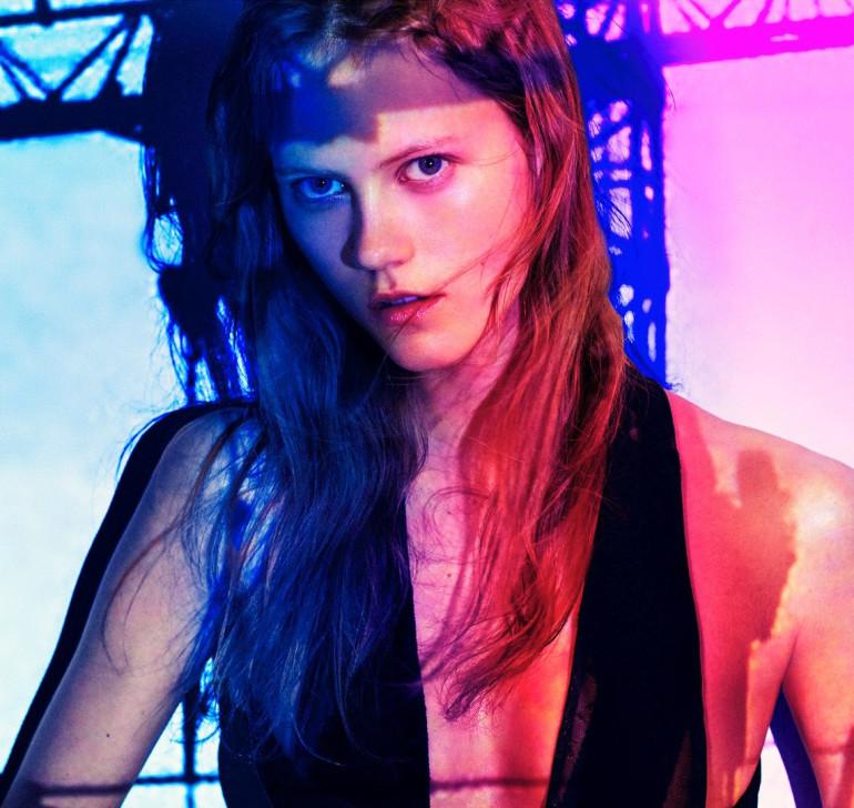 Julia Wachtel by Victor Demarchelier for Numero 4