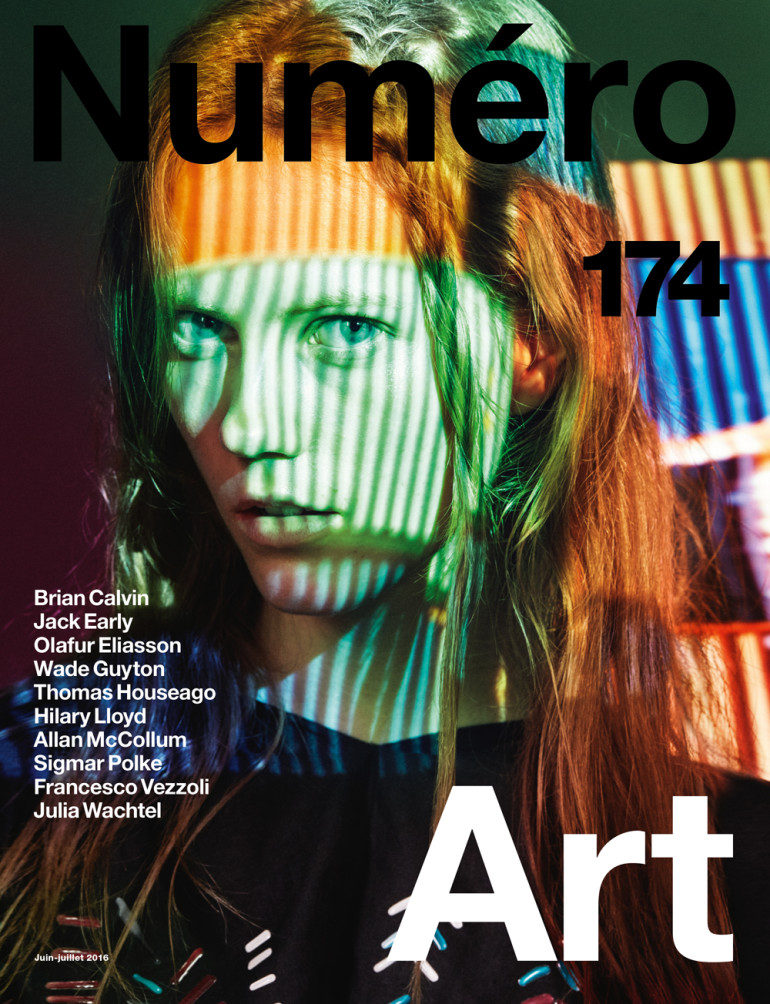 Julia Wachtel by Victor Demarchelier for Numero Cover