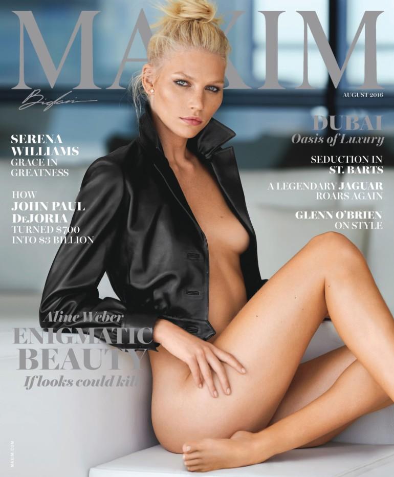 Maxim USA - August 2016-1