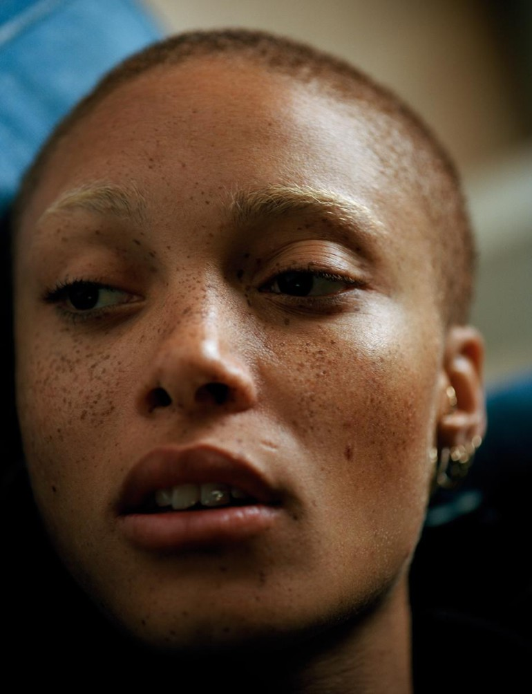 Adwoa Aboah by Harley Weir for i-D Magazine, 2