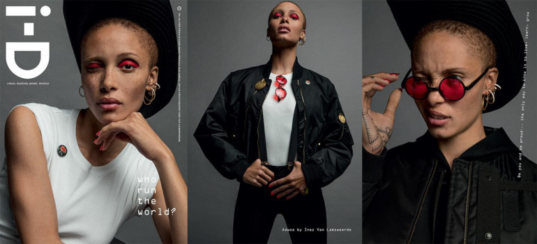 Adwoa Aboah by Harley Weir for i-D Magazine, 3443