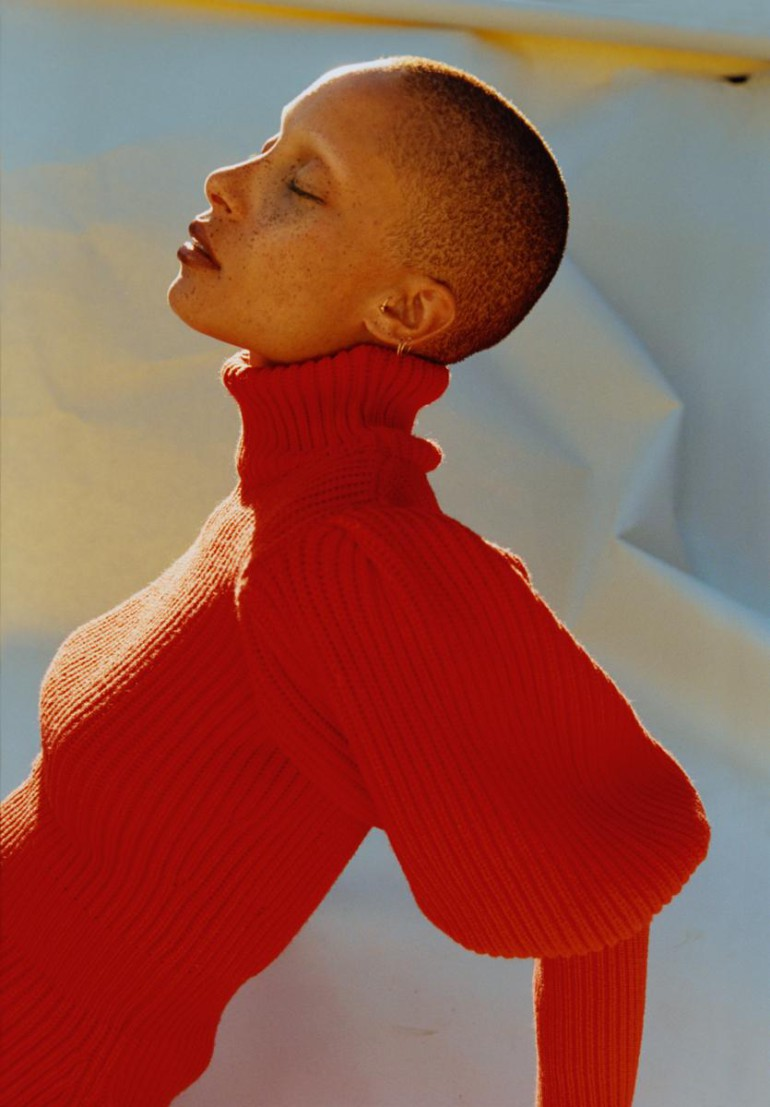 Adwoa Aboah by Harley Weir for iD Magazine 14
