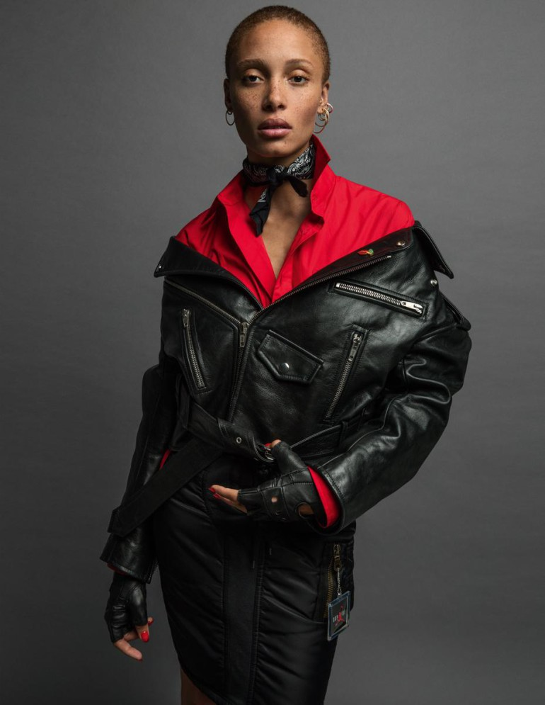 Adwoa Aboah by Harley Weir for iD Magazine 334