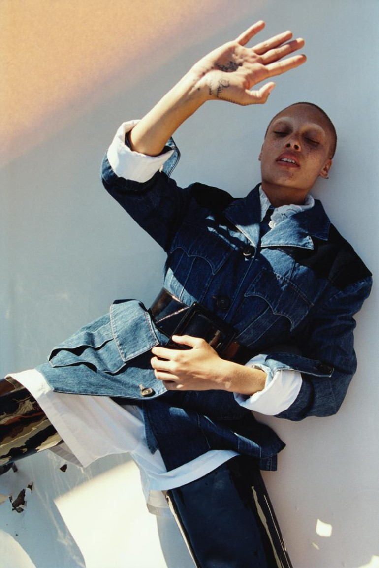 Adwoa Aboah by Harley Weir for iD Magazine 9