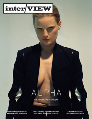 Guinevere Van Seenus by Brianna Capozzi for Interview Magazine Cover