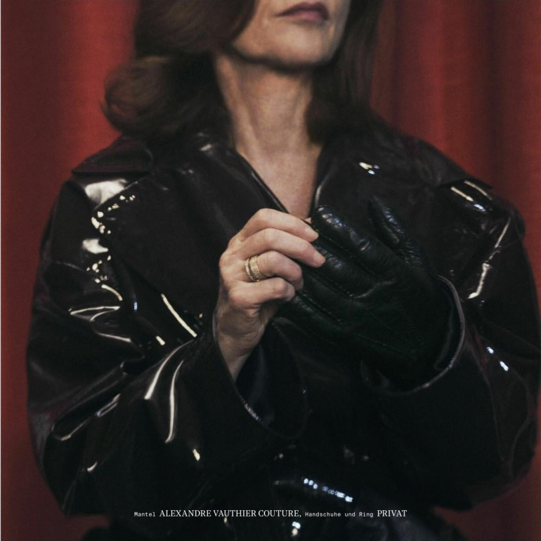Isabelle Huppert by Sharif Hamza for Interview Magazine 12