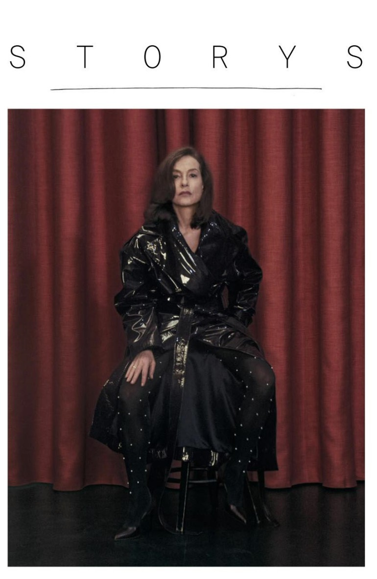 Isabelle Huppert by Sharif Hamza for Interview Magazine 2