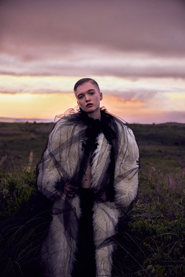Vogue China - Ruth Bell by Ryan McGinley