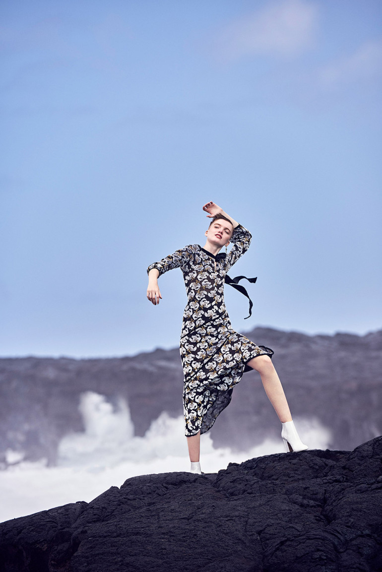 Vogue China - Ruth Bell by Ryan McGinley 'Intoxicating Romance'
