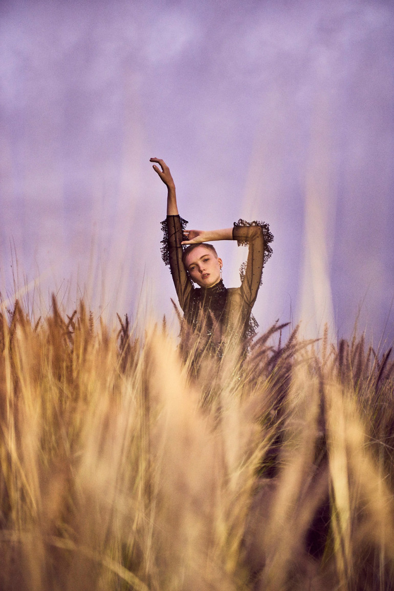 Vogue China - Ruth Bell by Ryan McGinley 'Intoxicating Romance' 9