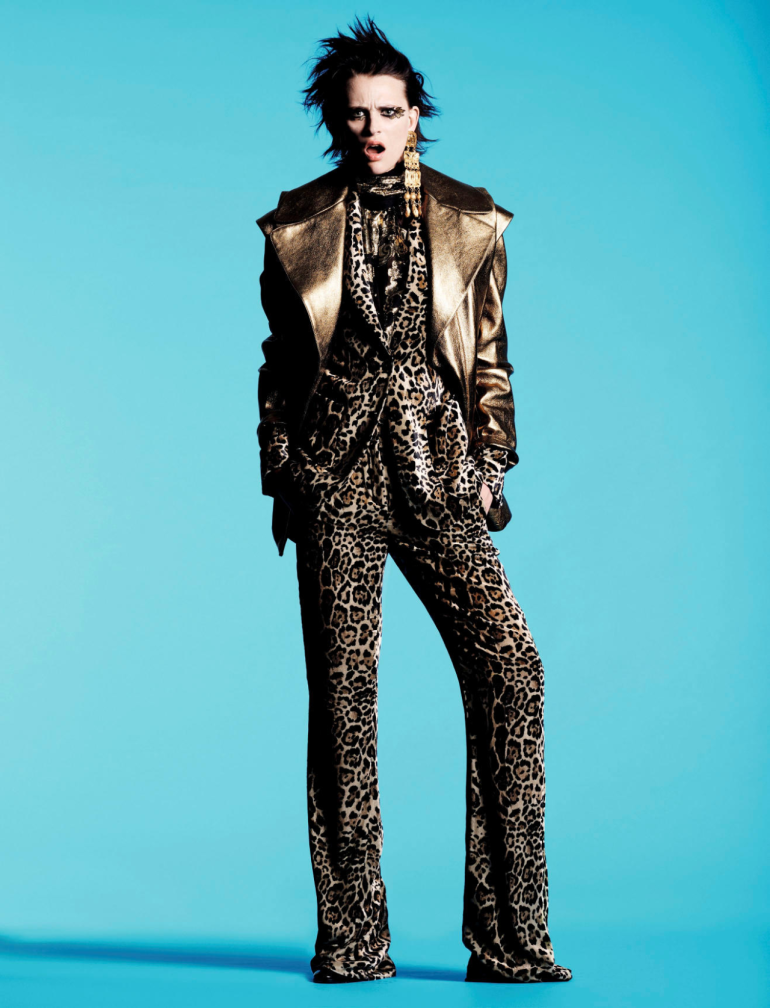 Milou van Groesen goes 'Bold' by Jan Welters for Vogue Netherlands 10