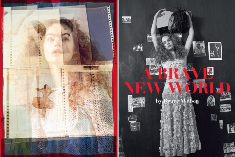 'Brave New World' for Vogue Italia