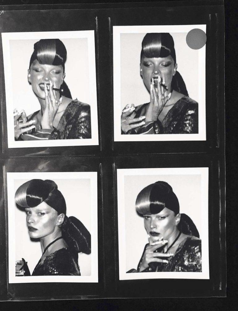 Steven Klein 'The Polaroid Issue' Vogue Italia February 2017 40