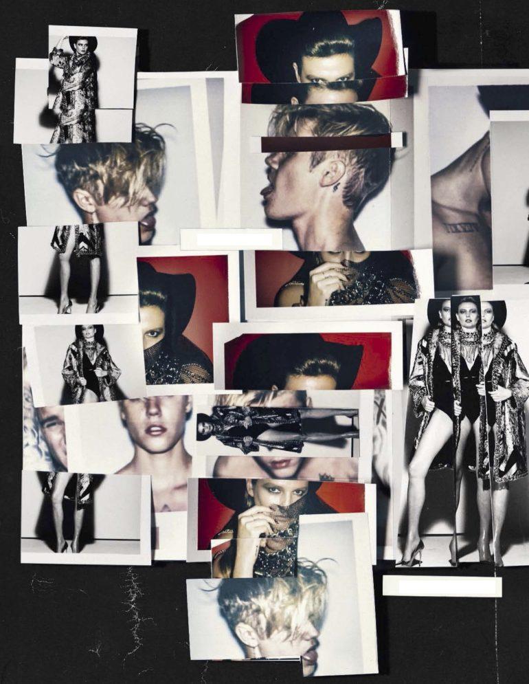Steven Klein 'The Polaroid Issue' Vogue Italia February 2017 8