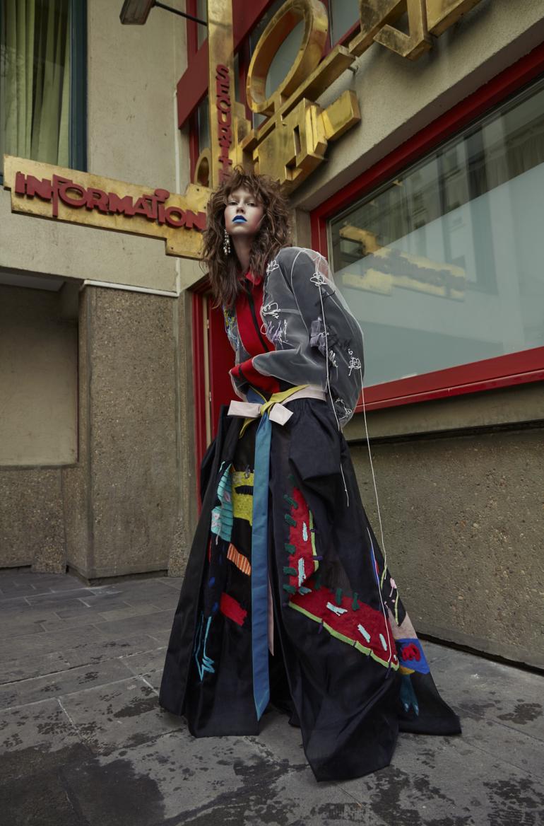Lorena Maraschi by Sol Sanchez for Numéro Berlin #2 May 2017 18