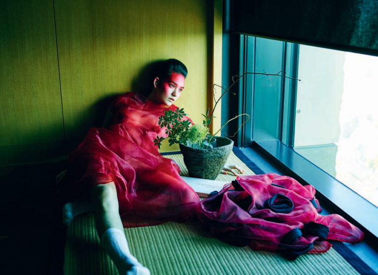 Mona Matsuoka by Michel Comte for Vogue Italia 8