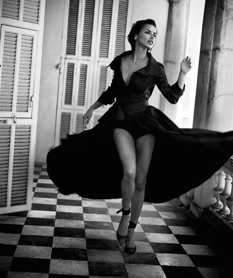 Adriana Lima by Vincent Peters for Harper's Bazaar Spain July 2017 22
