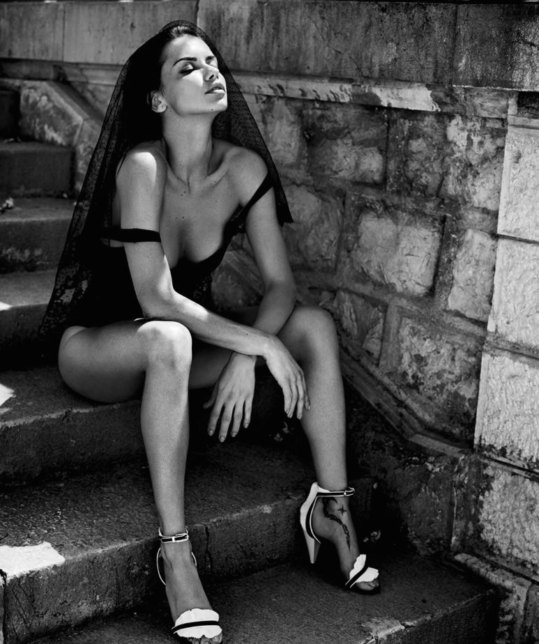 Adriana Lima by Vincent Peters for Harper's Bazaar Spain July 2017 8