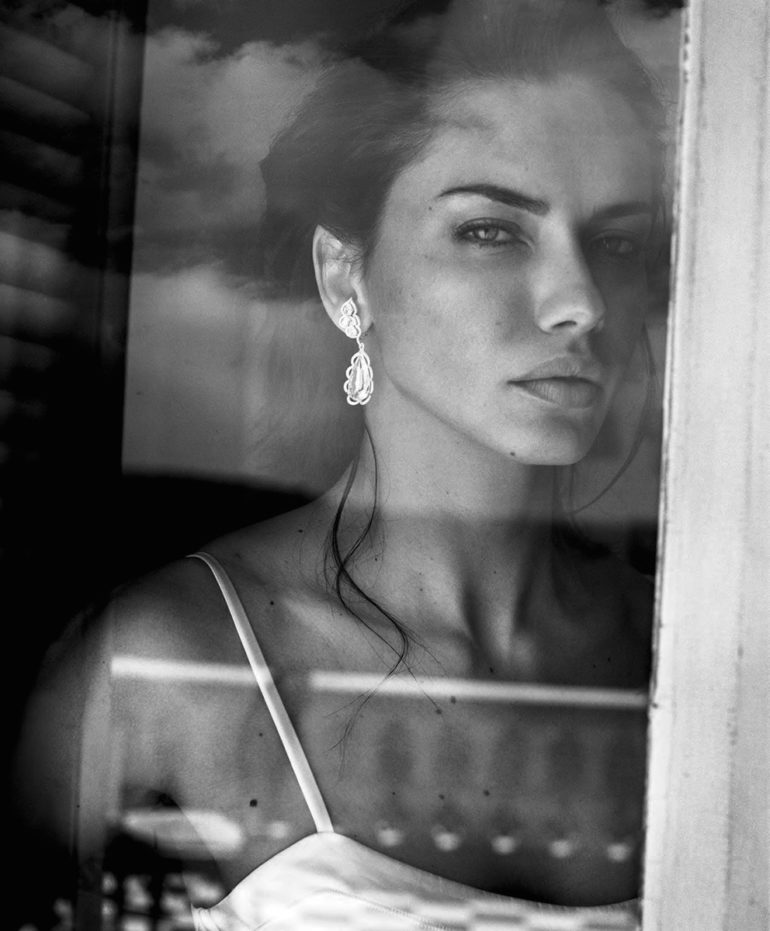 Adriana Lima by Vincent Peters for Harper's Bazaar Spain July 201721