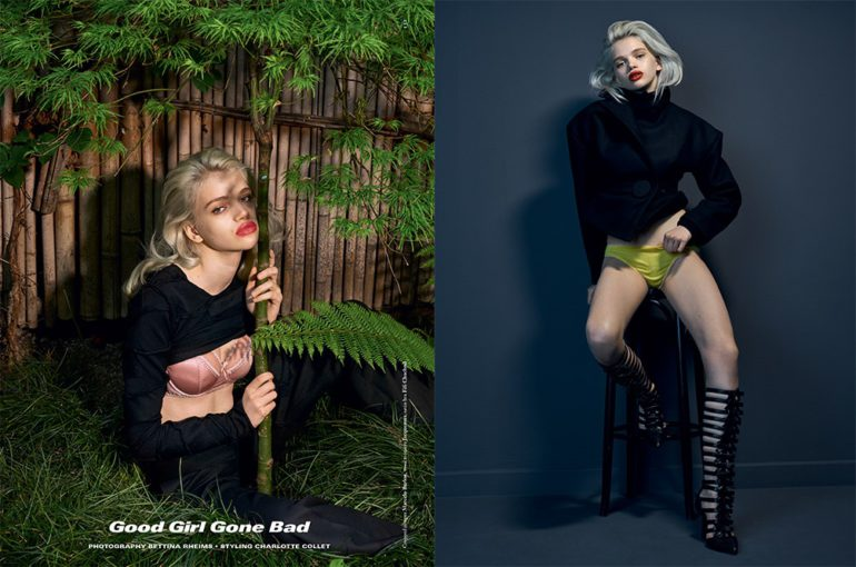 stella luci 'good girl gone bad' for dazed