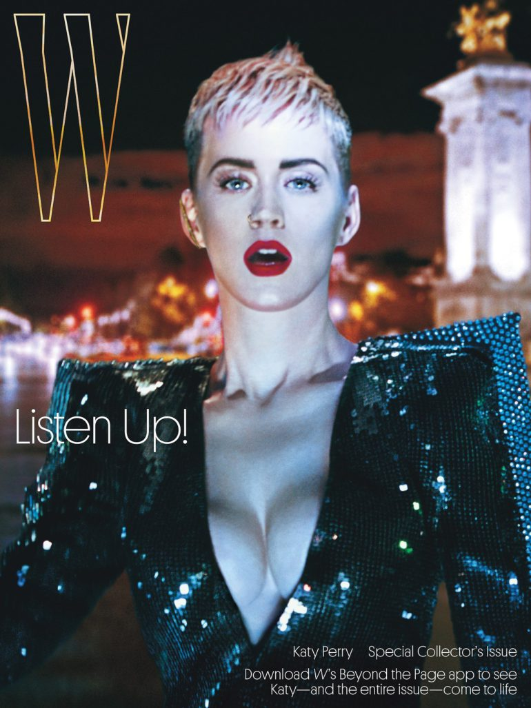 Katy Perry by Steven Klein for W Magazine September 2017 Cover