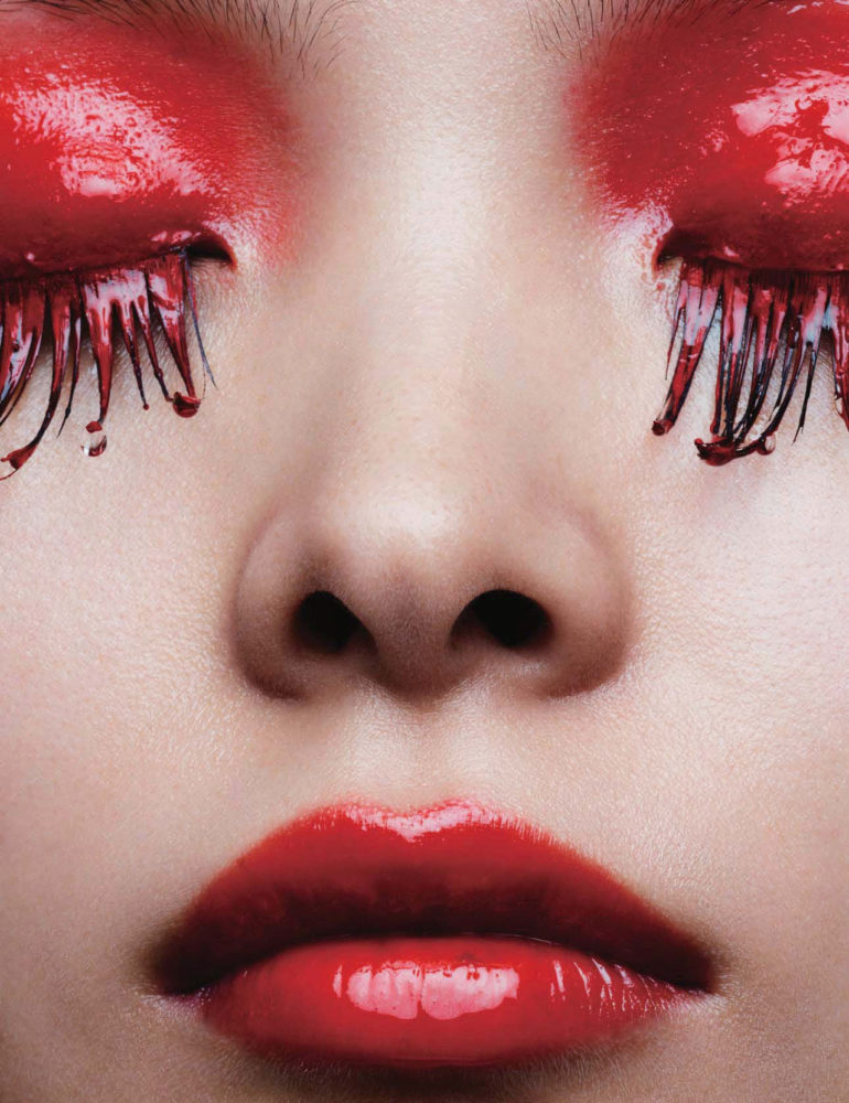 Ling Liu by Ben Hassett for Vogue China September 2017 2